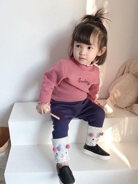 瑞欣儿童装品牌2019秋冬保暖羊毛衫套头衫