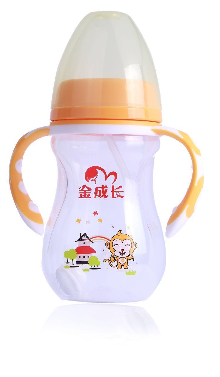 金成长婴童用品硅胶奶瓶