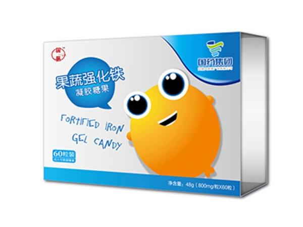 国膳婴童用品乳钙凝胶糖果