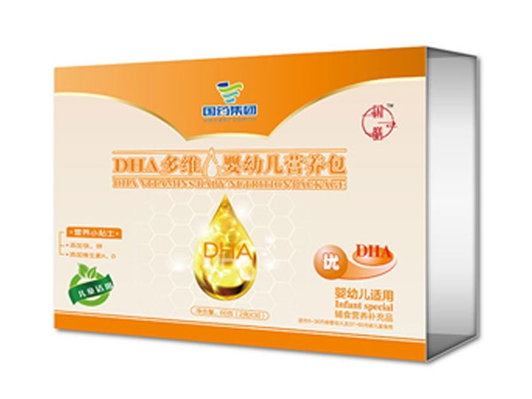 国膳婴童用品DHA多维婴幼儿营养包
