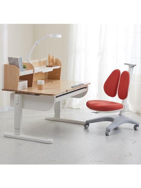 护童儿童学习桌旗下高端品牌:享学电动学习桌椅套装