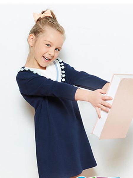 小红豆童装童装品牌2019春夏洋气女童礼服裙演出服