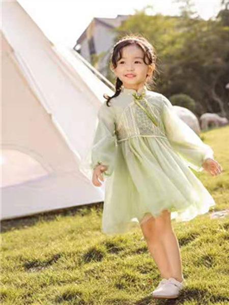 衣尺衣寸童装品牌2019春季超洋气秋装小女孩公主裙子