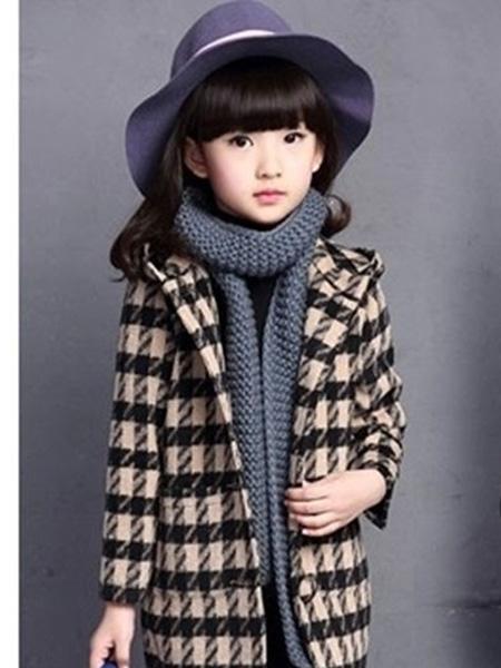 创优品童装童装品牌2019秋冬新品棉袄洋气公主童小女孩