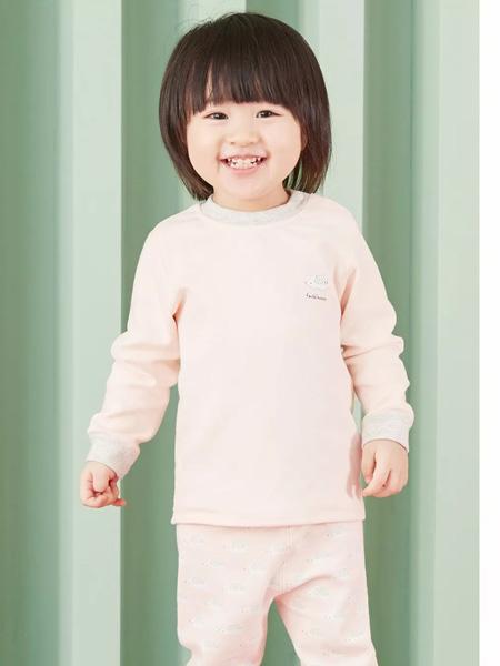 时尚小熊童装品牌2019秋季秋衣男女童线衣儿童纯棉内衣