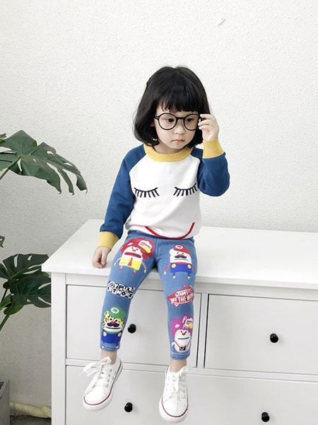 哈爸童装品牌2019秋冬纯棉加绒打底衫