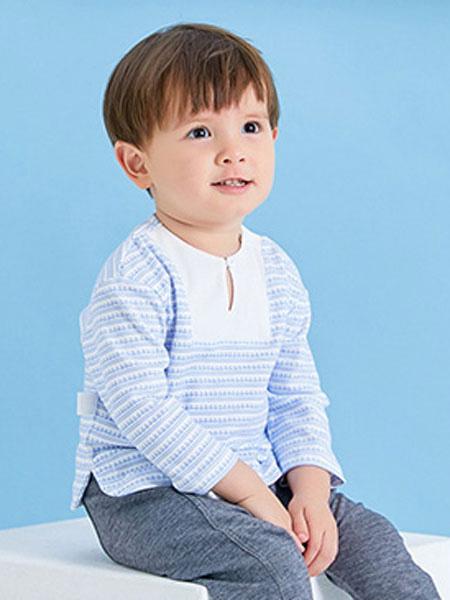 卓儿童装品牌2019秋季洋气棉绸套装空调服