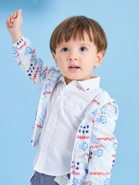 卓儿童装品牌2019开衫可爱印花