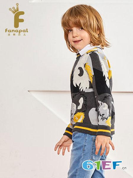 法纳贝儿童装品牌2019秋冬针织衫