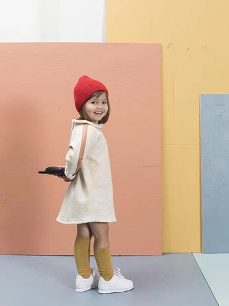 MAISON FRIDA童装品牌2019秋冬连衣裙收腰显瘦裙子女