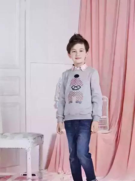 乐鲨童装品牌2019秋冬针织衫