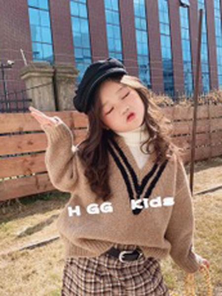 雪衣王童装品牌2019秋冬打底衫
