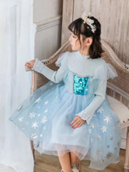 雪衣王童装品牌2019秋冬公主裙