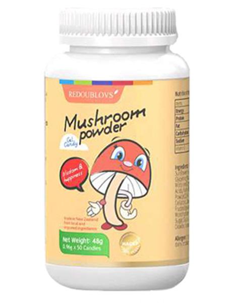 瑞思善婴儿食品蘑菇粉凝胶糖果