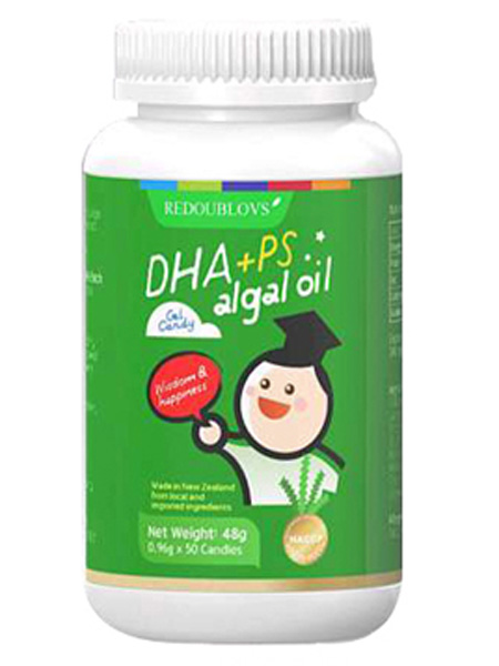 瑞思善婴儿食品DHA+磷脂酰丝氨酸(PS)凝胶糖果