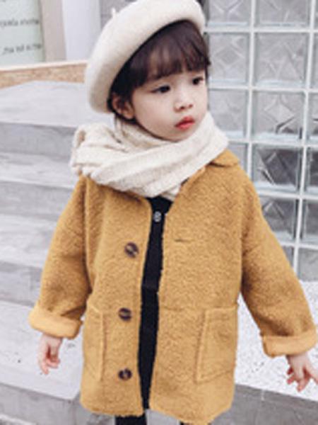 贝趣童装品牌2019秋季夹克外套