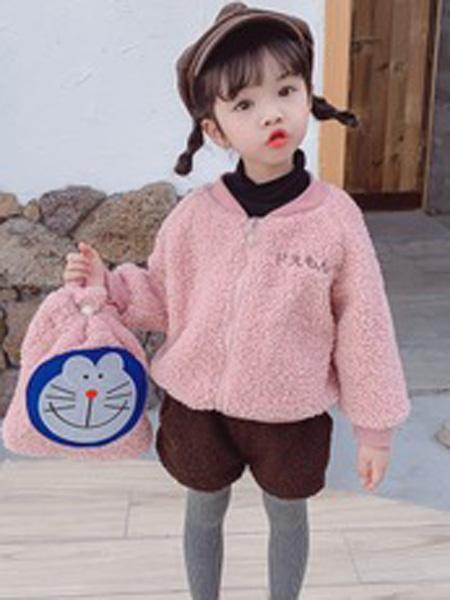 贝趣童装品牌2019秋季加绒外套