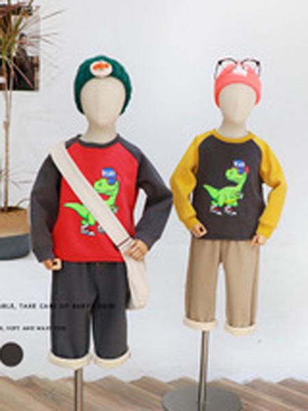 玛莎蒂衣童装品牌2019秋冬洋气上衣