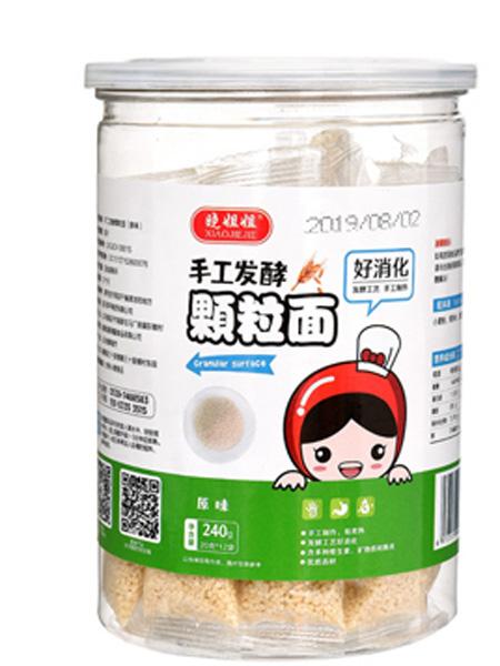 晓姐姐婴儿食品手工发酵原味颗粒面