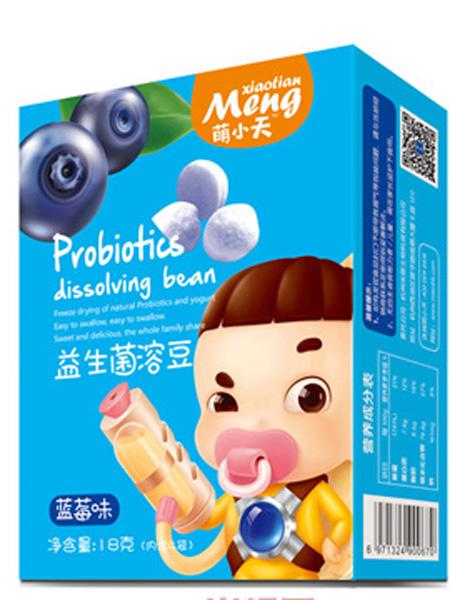 萌小天婴儿食品益生菌溶豆-蓝莓味
