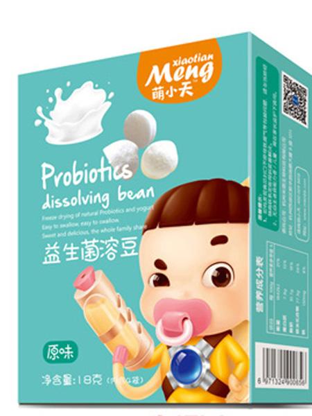 萌小天婴儿食品益生菌溶豆-原味