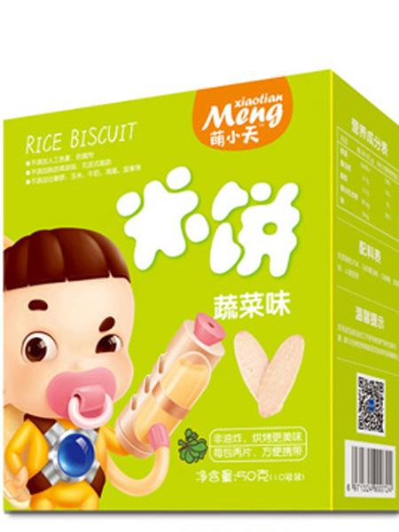 萌小天婴儿食品米饼-蔬菜味