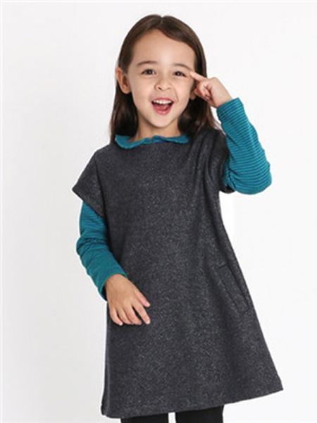 IPINCOPALLINO童装品牌2019秋季加厚冬裙打底衣服潮