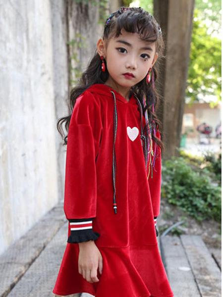 甜蜜小屋童装品牌2019秋冬时尚卫衣