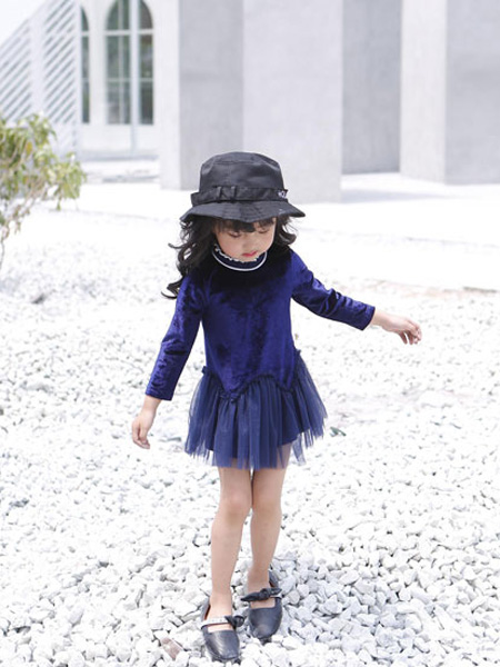 甜蜜小屋童装品牌2019秋冬公主裙