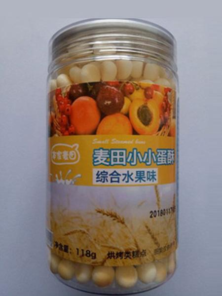 本家麦田婴儿食品综合水果味 本家麦田小小蛋酥-综合蔬菜味