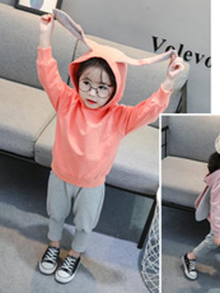 简尚童装品牌2019秋季卫衣小童运动衣服