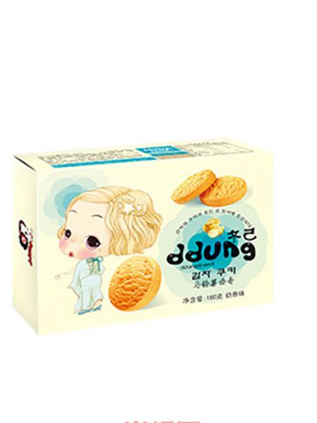 冬己婴儿食品奶香味马铃薯曲奇160g