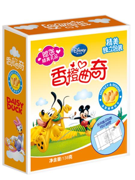 迪士尼 萌宝乐婴儿食品曲奇