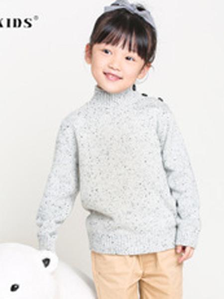 NUSIKIDS童装品牌2019秋季洋气针织衫上衣加厚打底衫