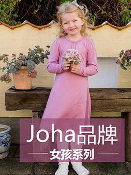 Joha童装品牌2019秋季连衣裙