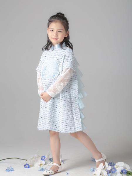 贝的屋童装品牌2019秋冬连衣裙