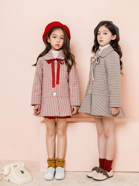 思�秀 SIBEIXIU童�b品牌2019秋冬新品格子外套
