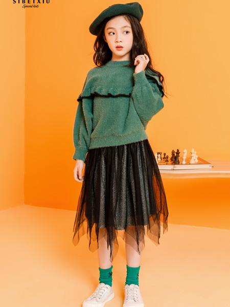 思贝秀 SIBEIXIU童装品牌2019秋冬新品针织衫