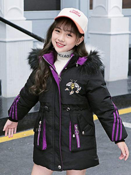 左优贝童装品牌2019秋冬棉袄冬装加厚外套