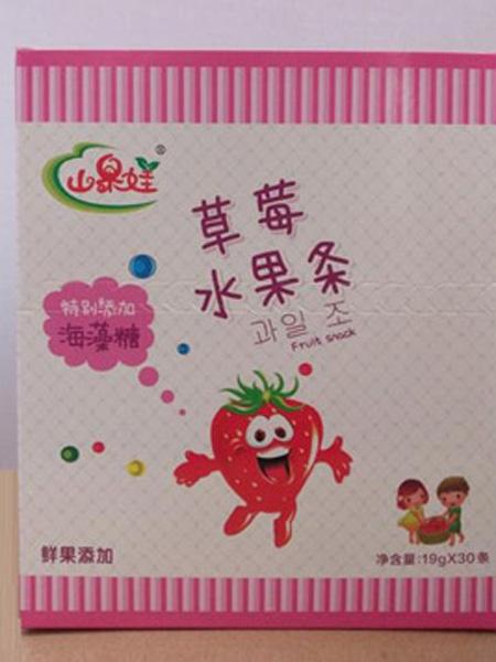 山果娃婴儿食品水果条