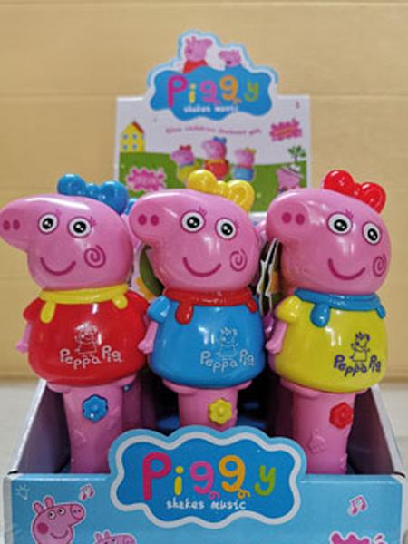 艾婴堡婴儿食品音乐粉红猪小馒头