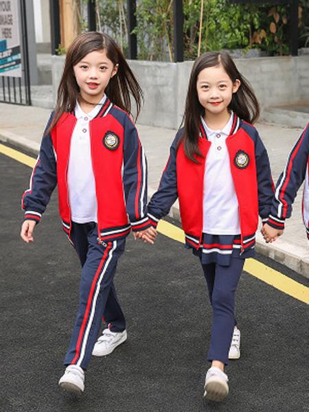 酷啦美拉童装品牌2019秋冬休闲幼儿园园服儿童校服运动