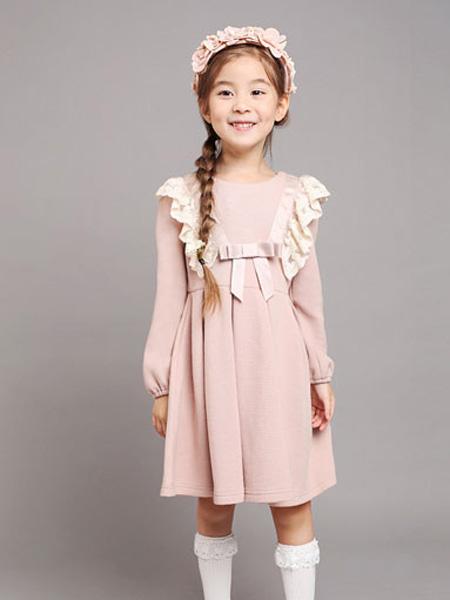 小象Q比童装品牌2019秋冬公主裙