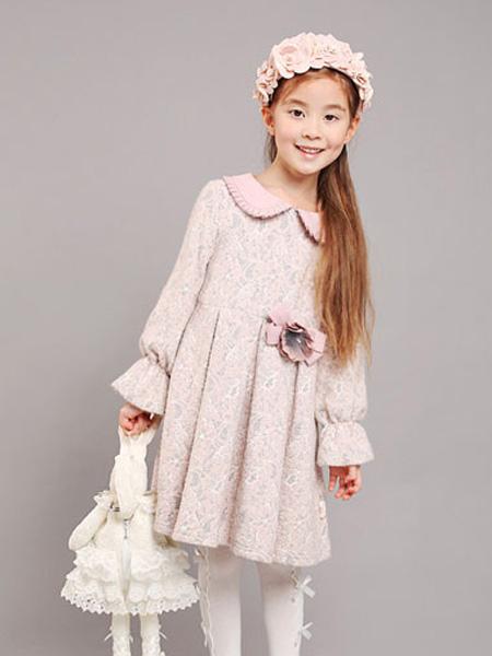 小象Q比童装品牌2019秋冬娃娃裙
