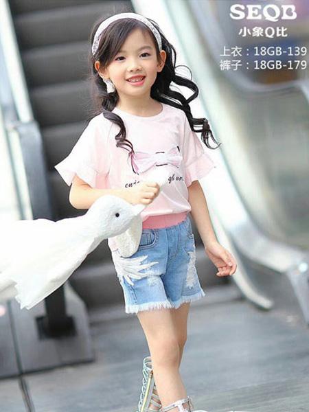 小象Q比童装品牌2019春夏休闲T恤