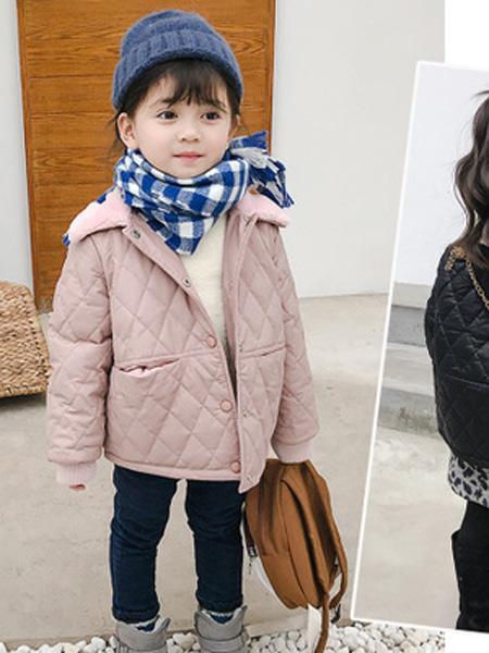 沐升童装品牌2019秋冬短款羽绒服