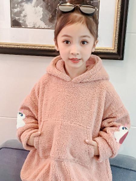 沐升童装品牌2019秋冬 保暖卫衣