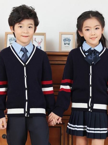 YBH/衣博汇童装品牌2019秋冬针织衫外套