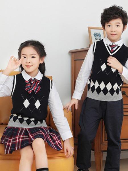 YBH/衣博汇童装品牌2019秋冬马甲针织衫