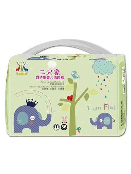 三只象婴童用品婴幼儿纸尿裤